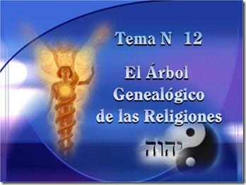 El Arbol genealógico de las Religiones