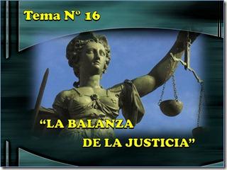 16 la balanza de la justicia