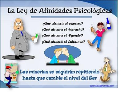 afinidades psicologicas