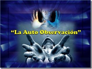 La Auto Observación