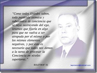Del Boletin 31