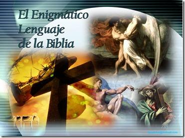 Enigmatico lenguaje de la biblia